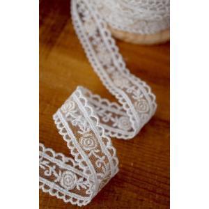 【商品詳細】  幅:約2.2cm 素材:チュールレース(金色の糸が縫いこまれています。) 販売数量:...
