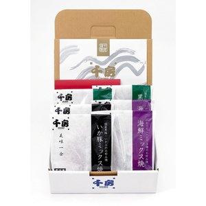 【千房公式】美味一会 お好み焼ギフトセット (BM50)(冷凍食品)|chibo-netshop