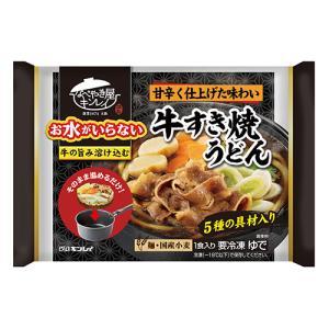 キンレイ 牛すき焼うどん(冷凍食品)