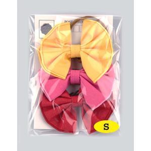 犬用アクセサリー/リボン小・3個パック(3色)クリックポスト対応商品 レザーひも製 ハンドメイド|chic-alors|02