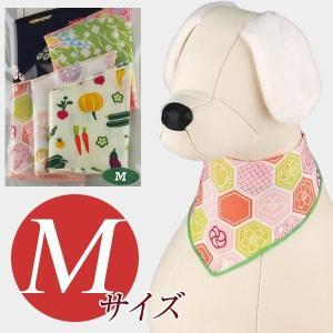 犬用アクセサリー/バンダナ中・5枚パック(和柄5色パック)クリックポスト対応商品 布製ハンドメイド|chic-alors