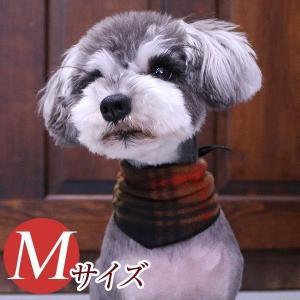 犬用アクセサリー/バンダナ中・3枚パック(フリース・ブラウン)クリックポスト対応商品 布製ハンドメイド|chic-alors