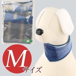 犬用アクセサリー/バンダナ中・3枚パック(フリース・ブルー)クリックポスト対応商品 布製ハンドメイド|chic-alors