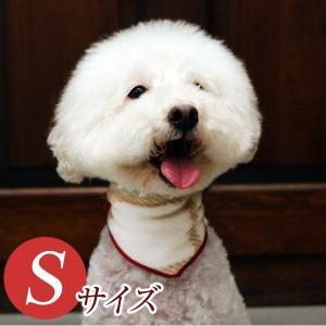 犬用アクセサリー/バンダナ小・3枚パック(フリース・ベージュ)クリックポスト対応商品 布製ハンドメイド|chic-alors
