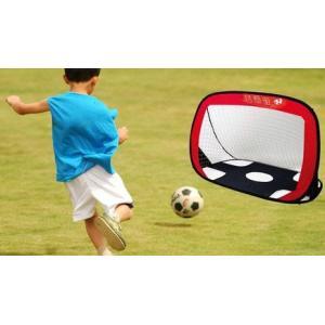 サッカーゴール ポップアップゴール ひっくり返せばGKが出現 片付けるのが簡単 省スペース 蹴球 CHI-PAGOAL|chic