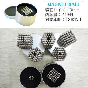 マグネットボール ネオジム磁石 3mm 216...の詳細画像2