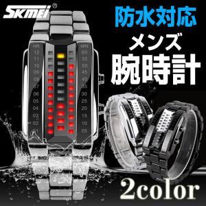 Skmei 防水対応 メンズ LED腕時計 生活防水 雨濡れOK デジタルウォッチ 個性的 クール 並行輸入品 ゆうパケット送料無料 CHI-1013|chic