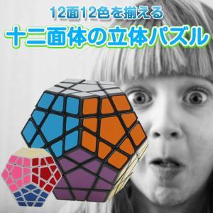 メガミンクス 十二面体 立体パズル ポップ防止 キューブ型パズル 回転 パズル 12面完成攻略書(LBL法)付属 ◇CHI-SSMX10|chic