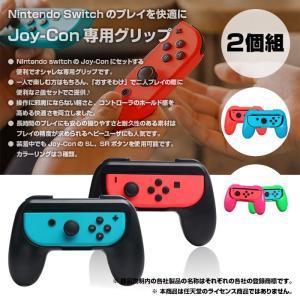 Nintendo switch Joy-Con 専用グリップ 2個セット SL、SRボタン使用可能 簡単接続 手にフィットする造形 ◇CHI-SW-PADX2|chic