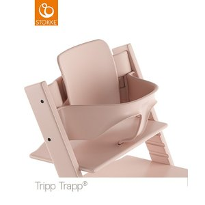 STOKKE ストッケ正規販売店 トリップトラップ ベビーセット TRIPP TRAPP 子供椅子 セレーヌピンク 3月13日新発売|chica-chico