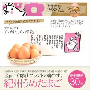 卵 紀州うめたまご 30玉 (破損保証3玉含) 敬老の日ギフトに|chicken-nakata|02