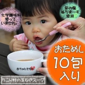 たまねぎスープ 淡路島産 10包 ちこり芋の粉末・ぬちまーす入 オニオンスープ 玉ねぎスープ ちこり村