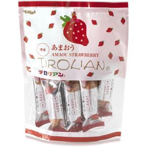 あまおうチロリアン小袋(ショート8本入り) 福岡 銘菓 お土産、贈り物に 千鳥饅頭の千鳥屋