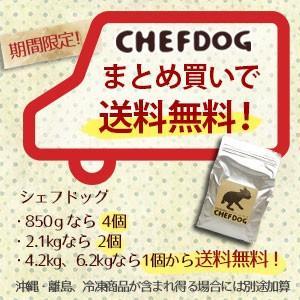 ドッグフード シェフドッグ オールミックス 6.2kg 国産 無添加 送料無料 chien-chien 02