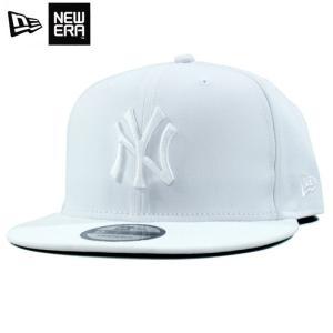 ニューエラ NEWERA スナップバック キャップ 9FIFTY ニューヨーク ヤンキース 白白 オールホワイト|chiki-2