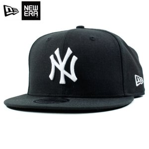 ニューエラ NEWERA スナップバック キャップ 9FIFTY ニューヨーク ヤンキース 黒 ブラック|chiki-2