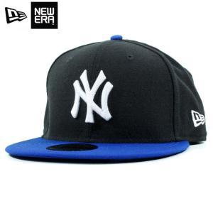 ニューエラ NEWERA スナップバック キャップ 9FIFTY ニューヨーク ヤンキース 黒青 ブラック ブルー|chiki-2