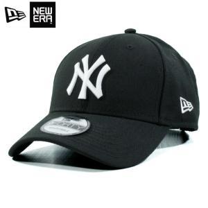 ニューエラ NEWERA ローキャップ ツイルキャップ 9forty ニューヨーク ヤンキース 黒 ブラック|chiki-2