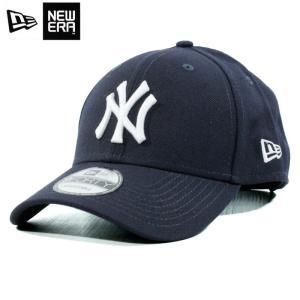 ニューエラ NEWERA ローキャップ ツイルキャップ 9forty ニューヨーク ヤンキース 紺 ネイビー|chiki-2