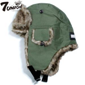 7UNION セブンユニオン パイロットキャップ ボンバーキャップ 防寒 オリーブ|chiki-2