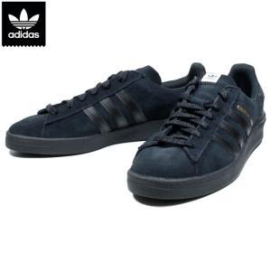 アディダス adidas キャンパス CAMPUS ADV ブラック ブラックソール 黒黒|chiki-2