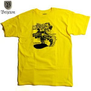 BRIXTON Tシャツ ローブロー ホットロッド|chiki-2