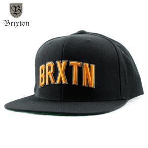 BRIXTON  ブリクストン  HAMILTON SNAP BACK  スナップバックキャップ  Black ブラック|chiki-2
