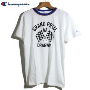 チャンピオン Champion リンガーTシャツ ロチェスター ヴィンテージ仕様 オフホワイト chiki-2