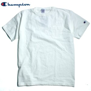 チャンピオン Champion Tシャツ T1011 ティーテンイレブン ヘビーウェイト ポケットT ポケT 無地 ワンポイント chiki-2