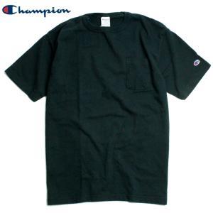 チャンピオン Champion Tシャツ T1011 ティーテンイレブン ヘビーウェイト ポケットT ポケT 無地 ワンポイント|chiki-2