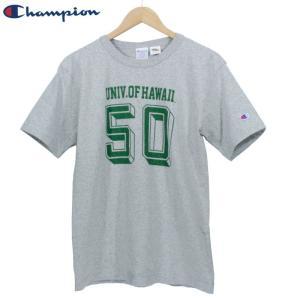 チャンピオン Champion Tシャツ ハワイ大学 カレッジ T1011 染み込み プリント アメリカ製|chiki-2