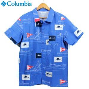Columbia(コロンビア)のトローラーズベストショートスリーブシャツ。 ムレを逃がし快適な着心地...