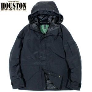HOUSTON ヒューストン ECWCS パーカー 防水ジャケット ミリタリージャケット ブラック