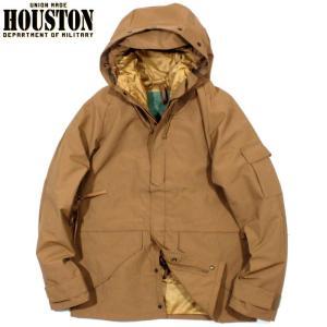 HOUSTON ヒューストン ECWCS パーカー 防水ジャケット ミリタリージャケット キャメル