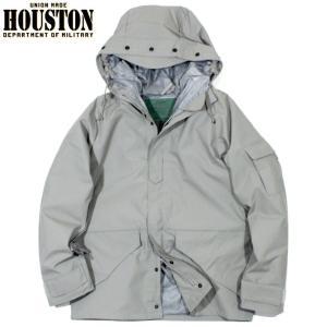HOUSTON ヒューストン ECWCS パーカー 防水ジャケット ミリタリージャケット グレー