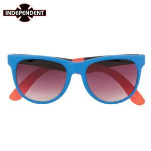 INDEPENDENT インディペンデント  サングラス  Dons Square Sunglasses   ブルー/オレンジ BLUE / ORANGE|chiki-2