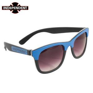 INDEPENDENT インディペンデント  サングラス  Lost Boys Square Sunglasses   ブラック/ブルー/ホワイト BLK / BLUE / WHT|chiki-2