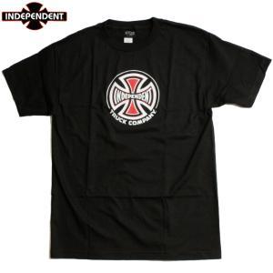 INDEPENDENT インディペンデント Tシャツ アイアンクロス アイコン ロゴ ブラック|chiki-2