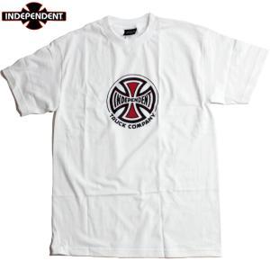 INDEPENDENT インディペンデント Tシャツ アイアンクロス アイコン ロゴ ホワイト|chiki-2