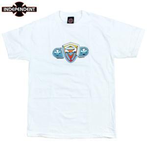 INDEPENDENT インディペンデント Tシャツ SK8MAFIA スケートマフィア ホワイト|chiki-2