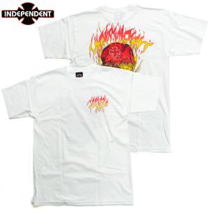 INDEPENDENT インディペンデント Tシャツ ホワイト|chiki-2