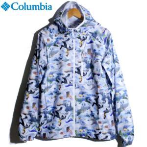 Columbia コロンビア ジャケット ウインドブレーカー ウインドジャケット 総柄 プリント|chiki-2
