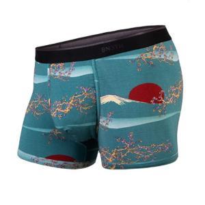 マイパッケージ ベニス MY PAKAGE BN3TH ボクサーパンツ 和柄 富士山 日の出