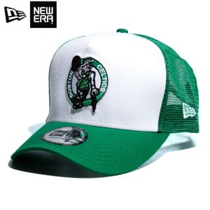 ニューエラ NEWERA メッシュキャップ Dフレーム セルティックス 白緑 ホワイト グリーン|chiki-2