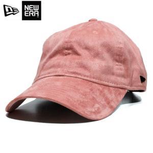 ニューエラ NEWERA ローキャップ 浅いキャップ 9THIRTY ワンポイントロゴ スウェード ピンク|chiki-2