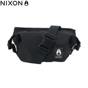 ニクソン NIXON ウエストバッグ ウエストポーチ ブラック|chiki-2