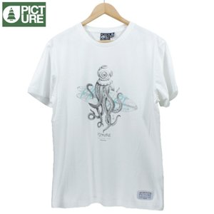 Picture Organic Clothing ピクチャーオーガニッククロージング Tシャツ オクトパス タコ サーフテイスト|chiki-2