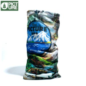 Picture Organic Clothing ピクチャーオーガニッククロージング ネックウォーマー ウッドランド 自然 風景|chiki-2