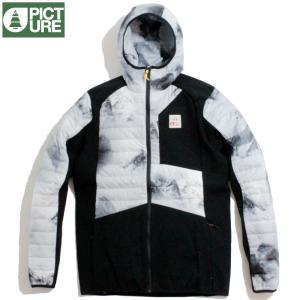 Picture Organic Clothing ピクチャーオーガニッククロージング ジャケット 中綿 プリマロフト 防寒 軽量 ホワイト ブラック 切替|chiki-2
