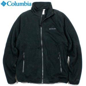 Columbia コロンビア フルジップブルゾン ニット調 裏地起毛 ブラック|chiki-2